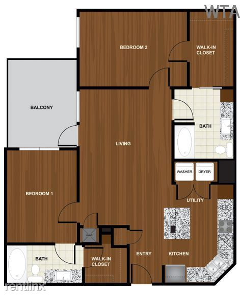 2 Bedrooms 2 Bathrooms Apartment for rent at Steps From Barton Creek And Zilker Park in Austin, TX