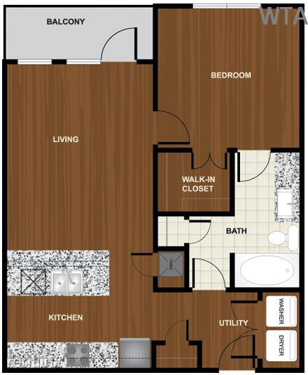 1 Bedroom 1 Bathroom Apartment for rent at Steps From Barton Creek And Zilker Park in Austin, TX