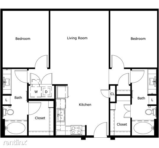 2 Bedrooms 2 Bathrooms House for rent at In The Heart Of The Domain in Austin, TX