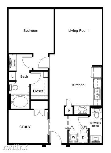 1 Bedroom 1 Bathroom House for rent at In The Heart Of The Domain in Austin, TX