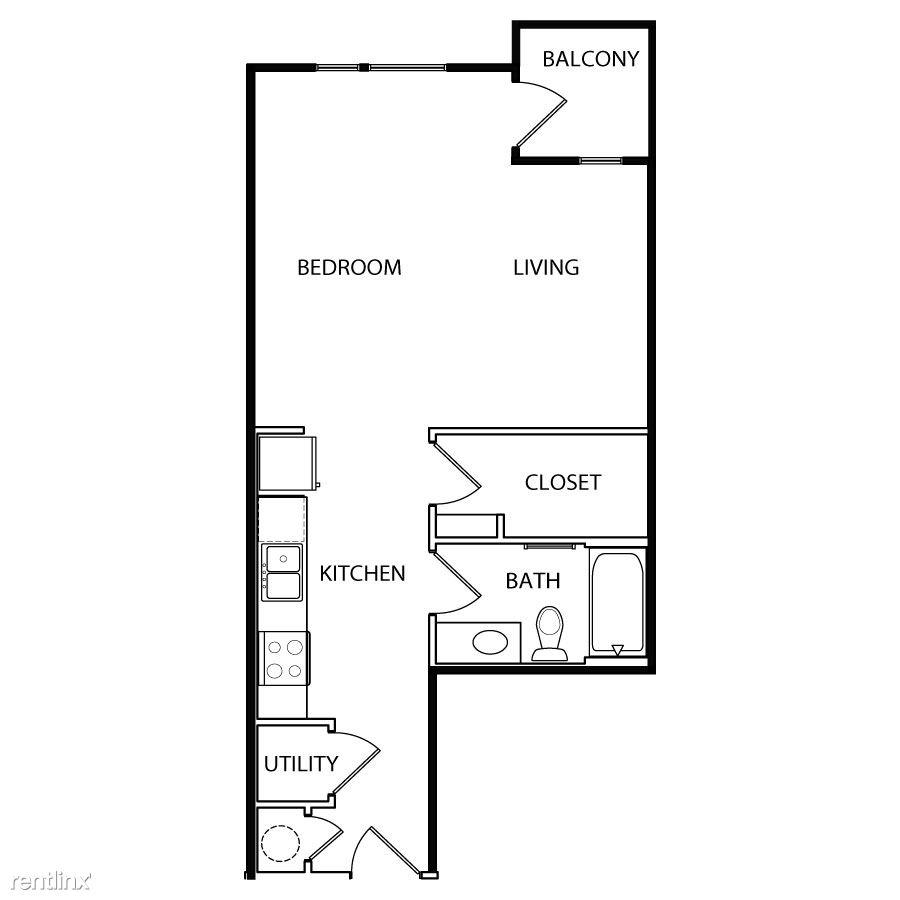 Studio 1 Bathroom House for rent at Vibrant East 6th Corridor in Austin, TX
