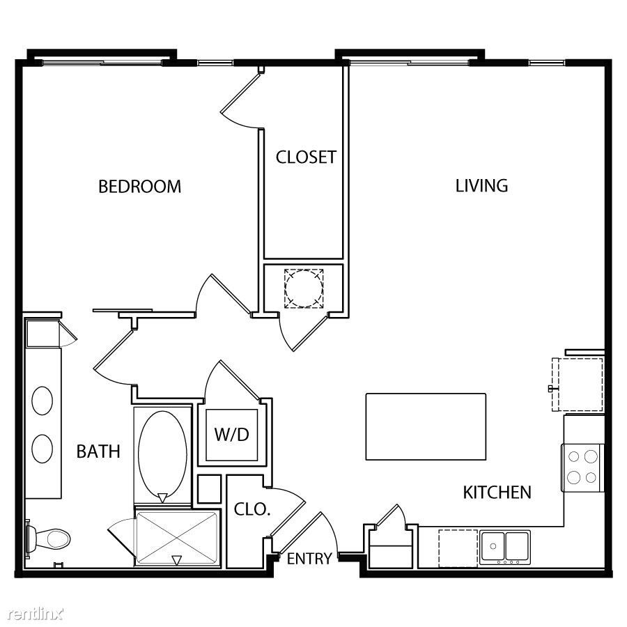 1 Bedroom 1 Bathroom House for rent at Vibrant East 6th Corridor in Austin, TX