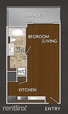 Studio 1 Bathroom Apartment for rent at Downtown - Ultimate In Luxury Living - 78701 in Austin, TX