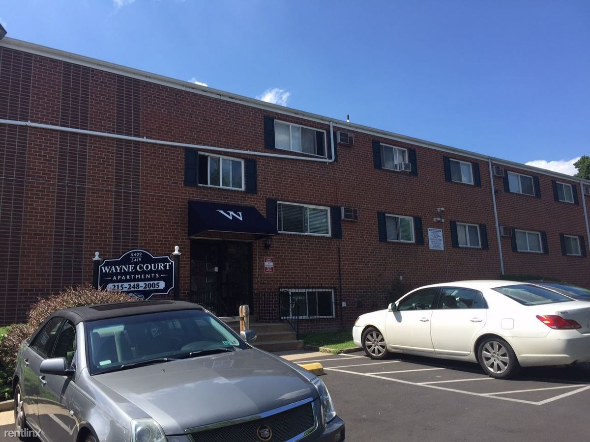 1 Bedroom 1 Bathroom Apartment for rent at Wayne Court Apts in Philadelphia, PA
