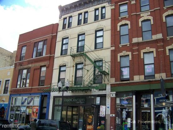 2 Bedrooms 1 Bathroom Apartment for rent at 1538 N Milwaukee Ave in Chicago, IL