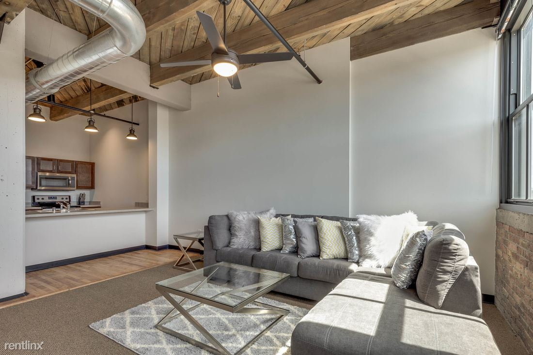 4 Bedrooms 2 Bathrooms Apartment for rent at Welford Sanders Historic Lofts in Milwaukee, WI