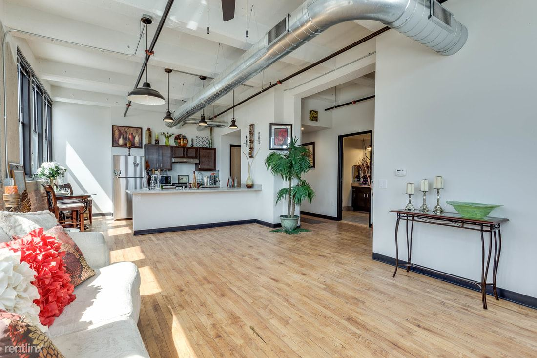 2 Bedrooms 2 Bathrooms Apartment for rent at Welford Sanders Historic Lofts in Milwaukee, WI