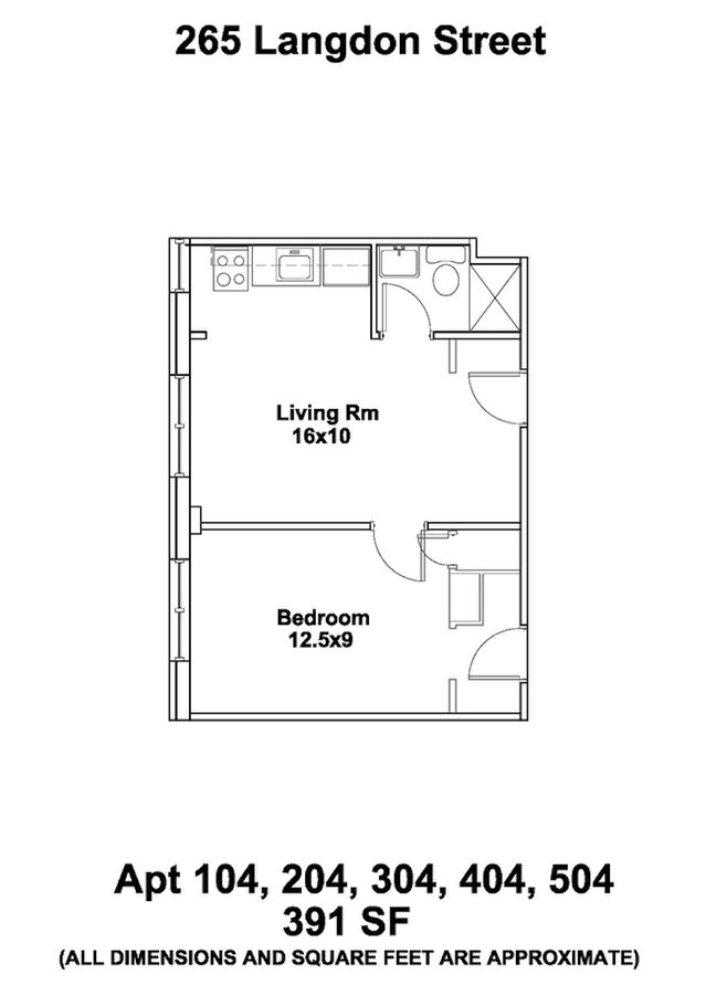 1 Bedroom 1 Bathroom Apartment for rent at Ann Emery in Madison, WI