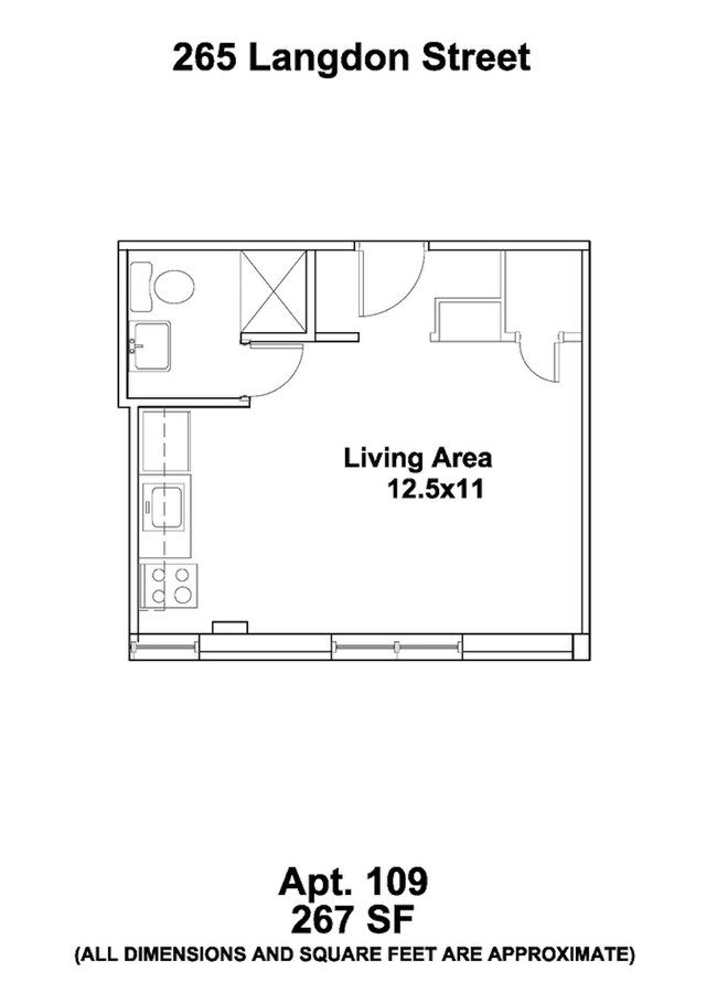 Studio 1 Bathroom Apartment for rent at Ann Emery in Madison, WI