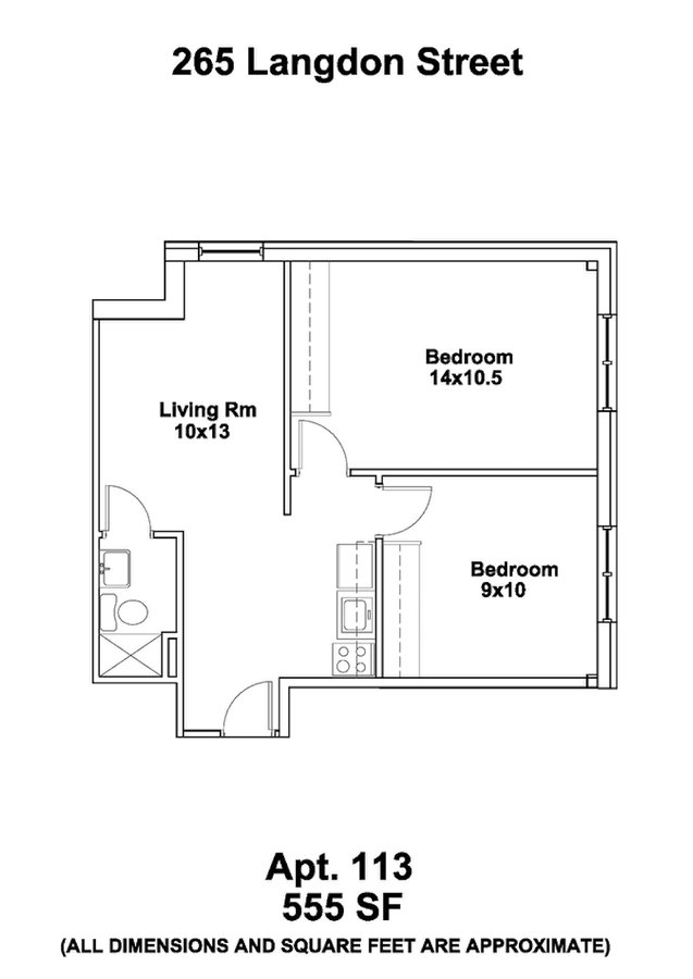 2 Bedrooms 1 Bathroom Apartment for rent at Ann Emery in Madison, WI