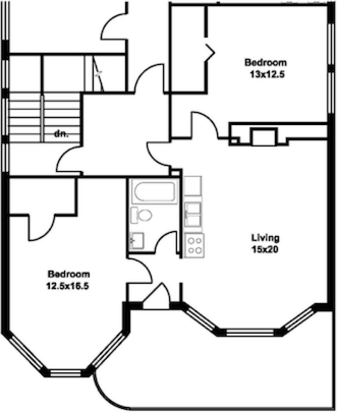 2 Bedrooms 1 Bathroom House for rent at 211 Langdon St in Madison, WI