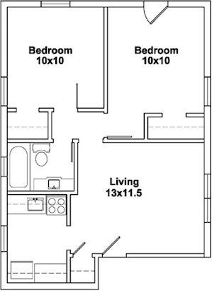 2 Bedrooms 1 Bathroom Apartment for rent at 508 N Henry St in Madison, WI