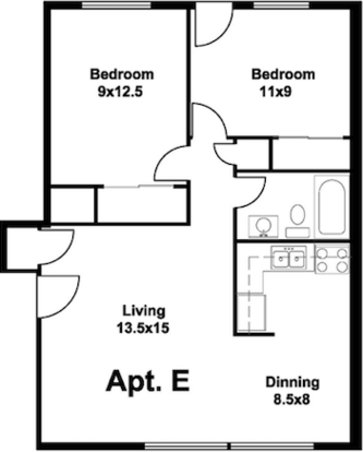 2 Bedrooms 1 Bathroom House for rent at 922 E Dayton St in Madison , WI