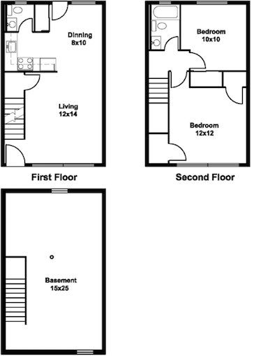 2 Bedrooms 2 Bathrooms Apartment for rent at 911 E Dayton Street in Madison, WI