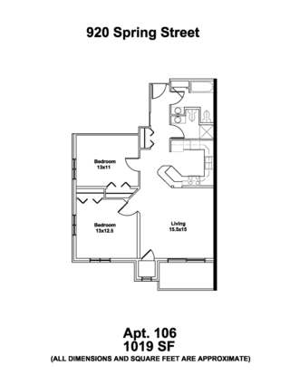 2 Bedrooms 2 Bathrooms Apartment for rent at 920 Spring St in Madison, WI