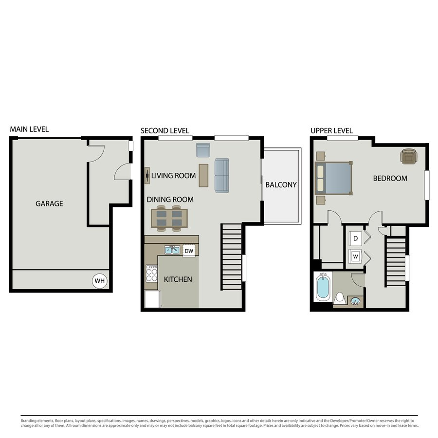 1 Bedroom 1 Bathroom Apartment for rent at Arbors At Parc Rose in Oxnard, CA