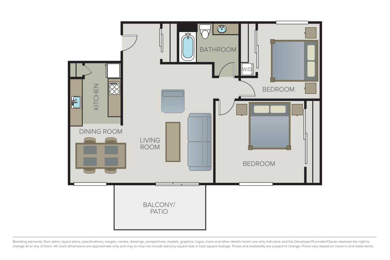 2 Bedrooms 1 Bathroom Apartment for rent at Sage At Cupertino in Cupertino, CA