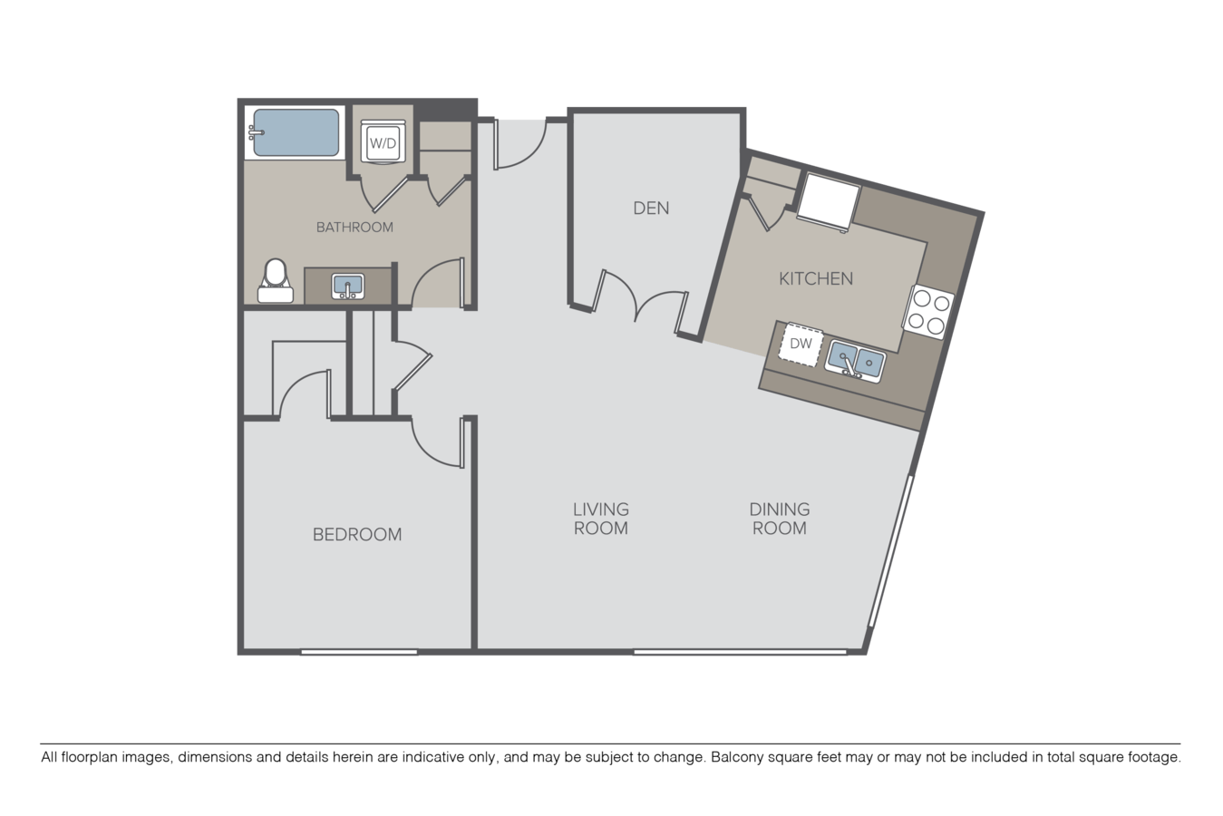 1 Bedroom 1 Bathroom Apartment for rent at Taylor 28 in Seattle, WA