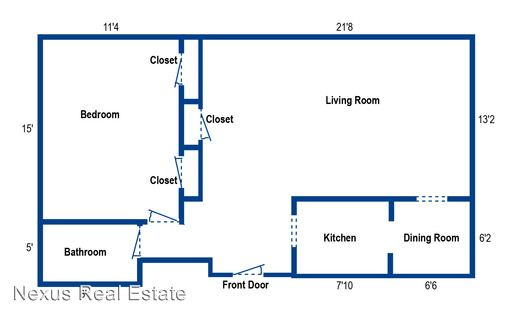 1 Bedroom 1 Bathroom Apartment for rent at 2123 Shady Ave in Pittsburgh, PA