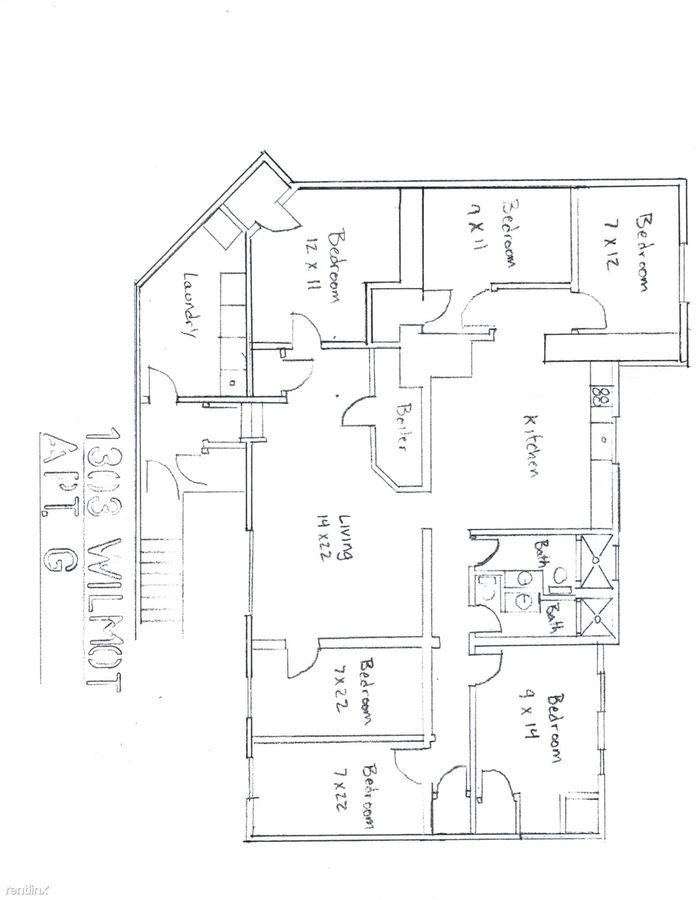 6 Bedrooms 2 Bathrooms Apartment for rent at 1303 Wilmot St in Ann Arbor, MI