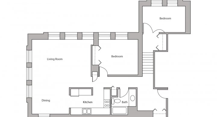 2 Bedrooms 1 Bathroom Apartment for rent at Lincoln School in Madison, WI