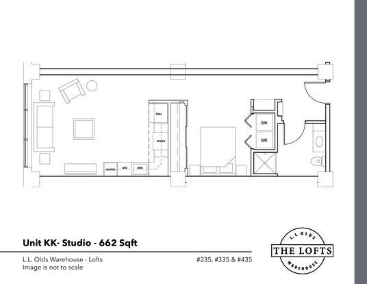 1 Bedroom 1 Bathroom Apartment for rent at L. L. Olds Warehouse Lofts in Madison, WI