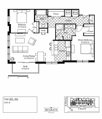 2 Bedrooms 2 Bathrooms Apartment for rent at Lake Park in Madison, WI