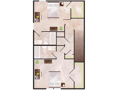 2 Bedrooms 3 Bathrooms Apartment for rent at Aspen Heights in Auburn, AL