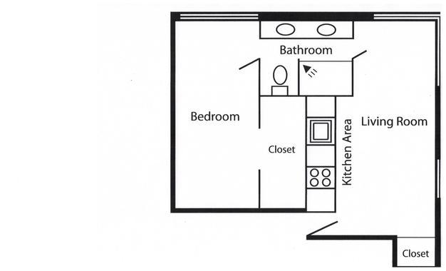 1 Bedroom 1 Bathroom Apartment for rent at Mendota Lakeshore Apartments in Madison, WI
