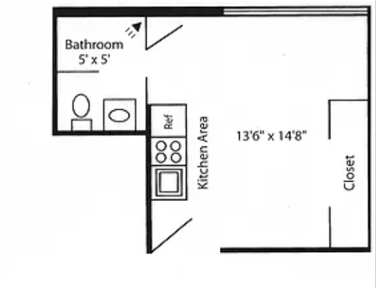 Studio 1 Bathroom Apartment for rent at Mendota Lakeshore Apartments in Madison, WI