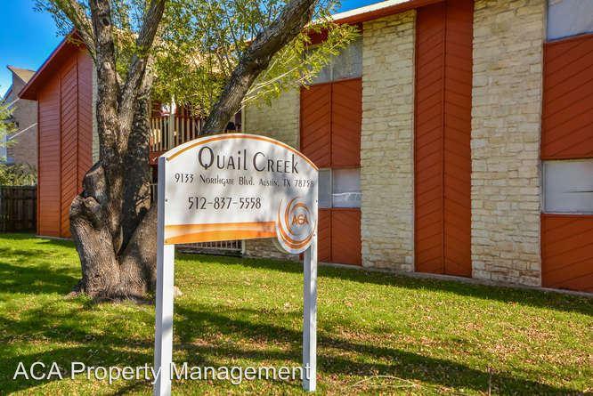 1 Bedroom 1 Bathroom Apartment for rent at Quail Creek Apartments 9133 Northgate Blvd in Austin, TX