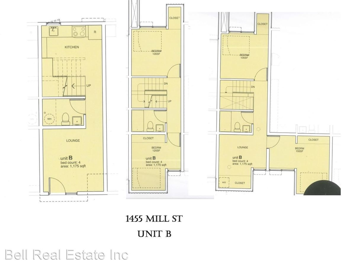 4 Bedrooms 2 Bathrooms Apartment for rent at 1455 Mill Street in Eugene, OR