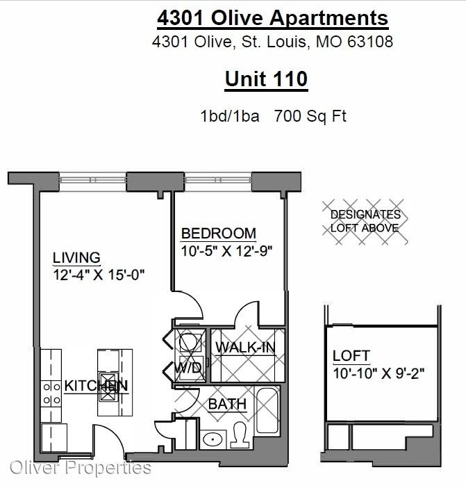 4301 Olive St Louis Mo Apartment For Rent
