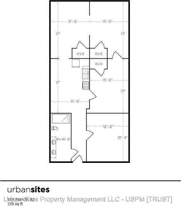 2 Bedrooms 1 Bathroom Apartment for rent at 1319 Main St in Cincinnati, OH