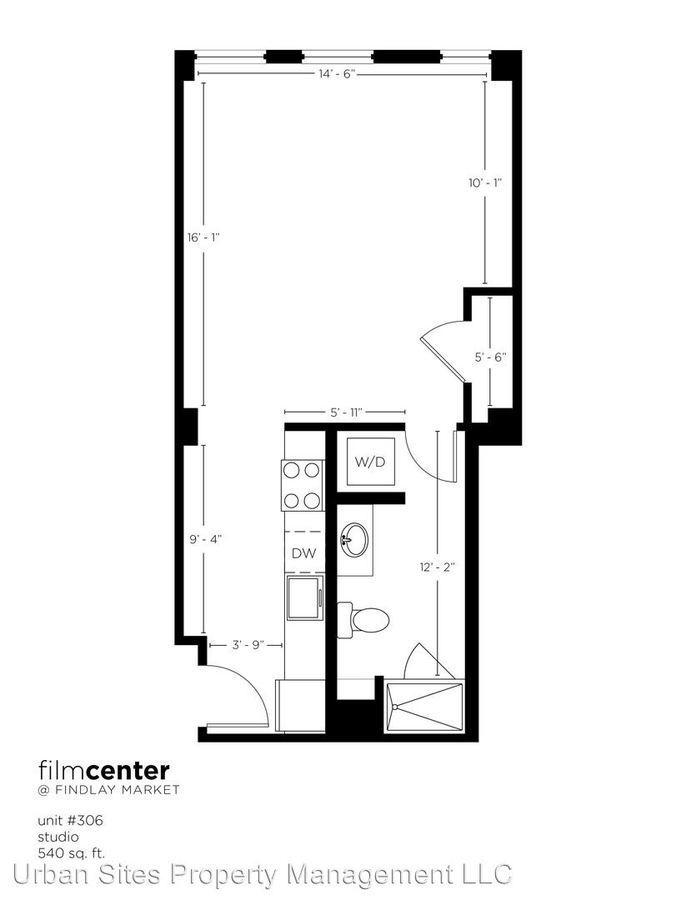 Studio 1 Bathroom Apartment for rent at 1632 Central Parkway in Cincinnati, OH