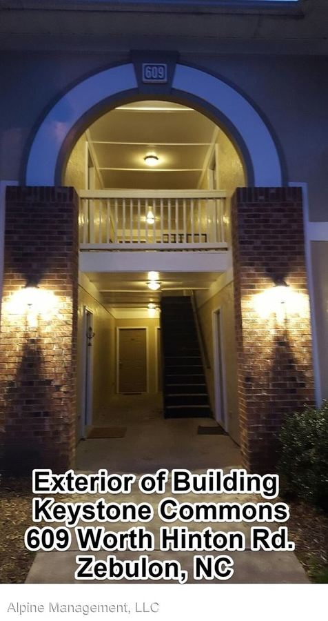 2 Bedrooms 1 Bathroom Apartment for rent at 601-609 Worth Hinton Rd. in Zebulon, NC