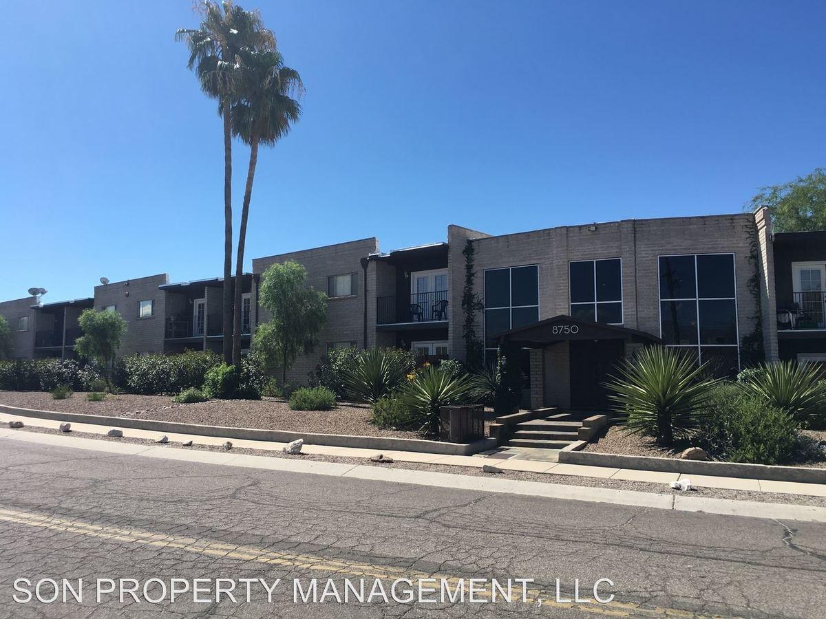 1 Bedroom 1 Bathroom Apartment for rent at 8750 East Cooper Street in Tucson, AZ
