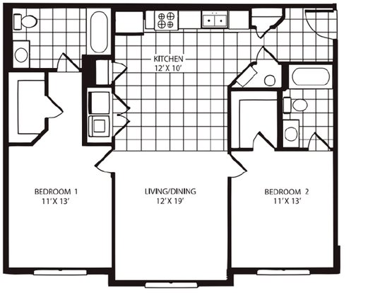 2 Bedrooms 2 Bathrooms Apartment for rent at The Pointe At Adam's Place in Tallahassee, FL