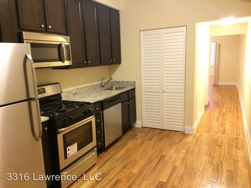 2 Bedrooms 1 Bathroom Apartment for rent at 3316 - 3320 W. Lawrence in Chicago, IL