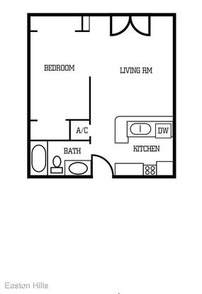 Studio 1 Bathroom Apartment for rent at 1900 Burton Dr in Austin, TX