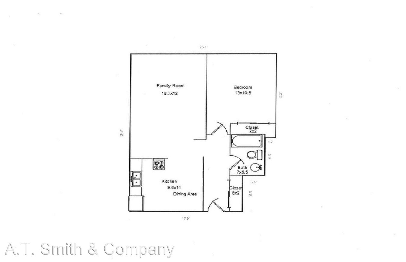 1 Bedroom 1 Bathroom Apartment for rent at 1130 10th Street in Golden, CO