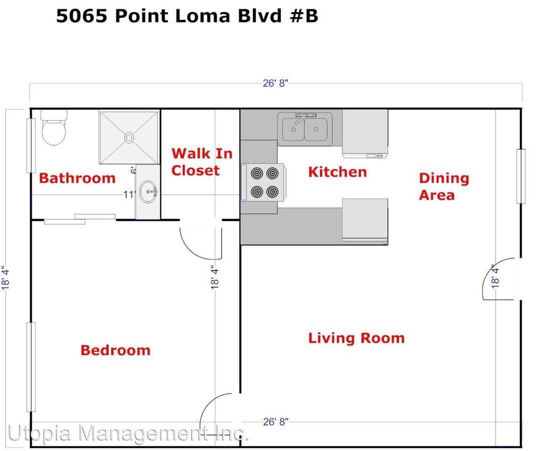 5065 West Point Loma Blvd San Diego, CA Apartment for Rent