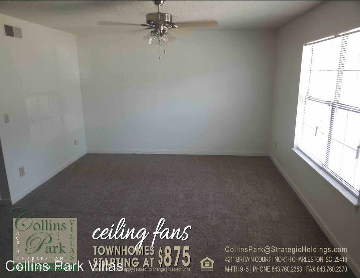 2 Bedrooms 2 Bathrooms Apartment for rent at 4211 Britain Court in North Charleston, SC