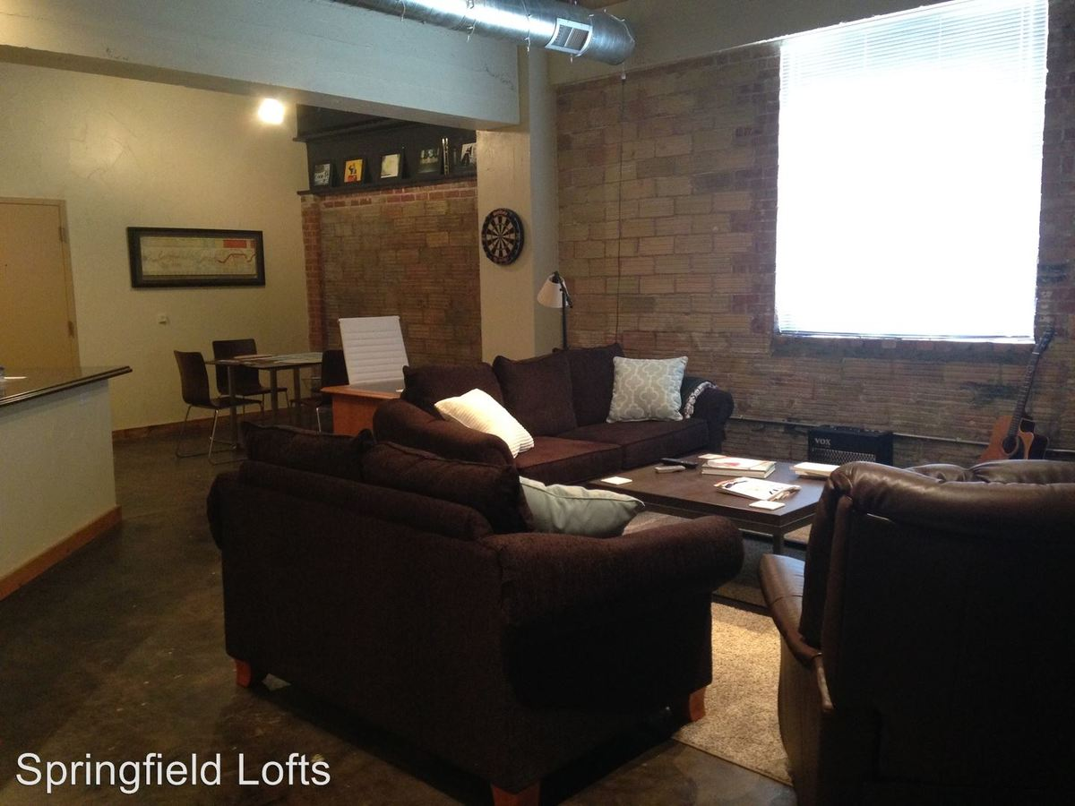 1 Bedroom 1 Bathroom Apartment for rent at 213 W. Olive in Springfield, MO