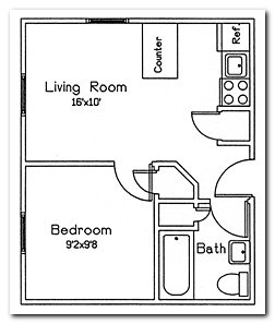 1 Bedroom 1 Bathroom Apartment for rent at 135 East Johnson Street in Madison, WI