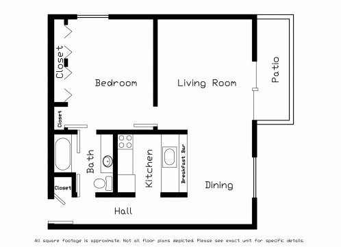1 Bedroom 1 Bathroom Apartment for rent at Cherry Tree Crossing in Madison, WI