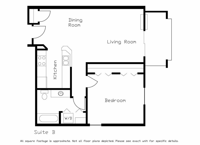 1 Bedroom 1 Bathroom Apartment for rent at Westridge Apartments in Verona, WI