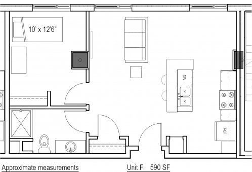1 Bedroom 1 Bathroom Apartment for rent at Park Regent Apartments in Madison, WI