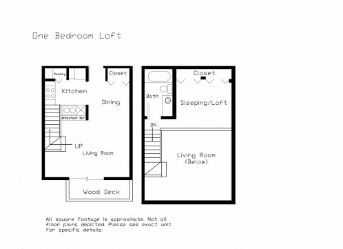 1 Bedroom 1 Bathroom Apartment for rent at Forest Ridge in Middleton, WI