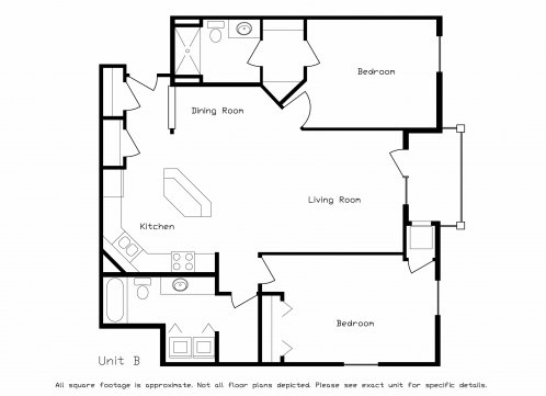 2 Bedrooms 2 Bathrooms Apartment for rent at Prairie Towne Square in Sun Prairie, WI